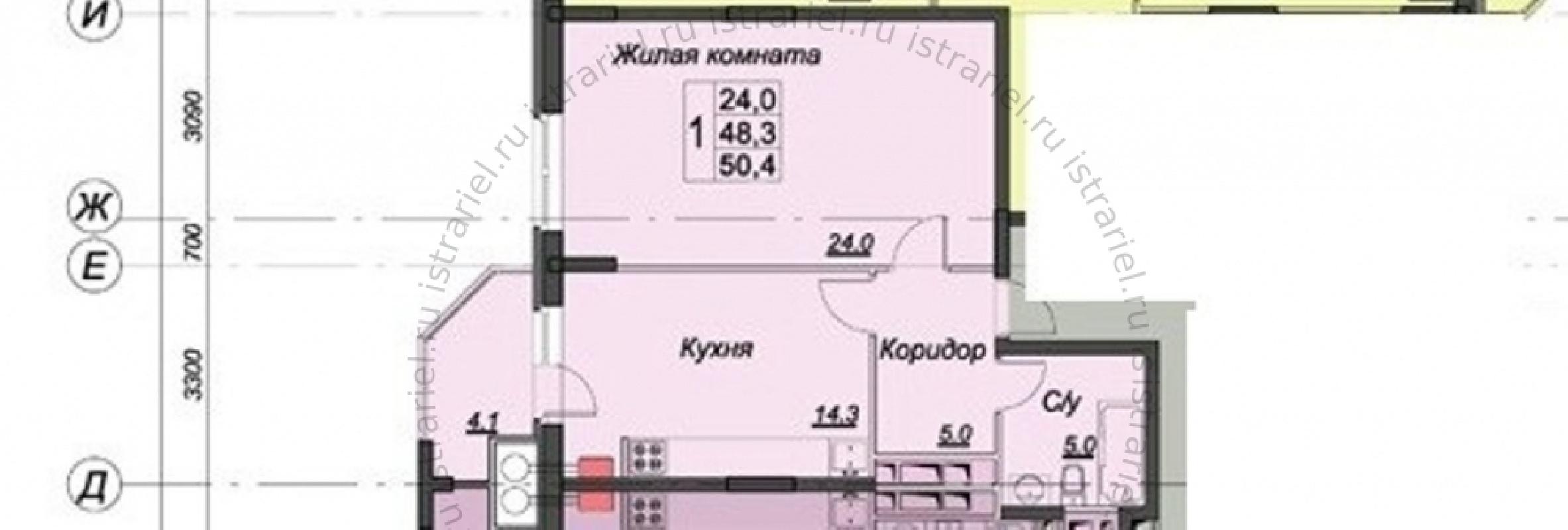 квартира за 3300000 рублей