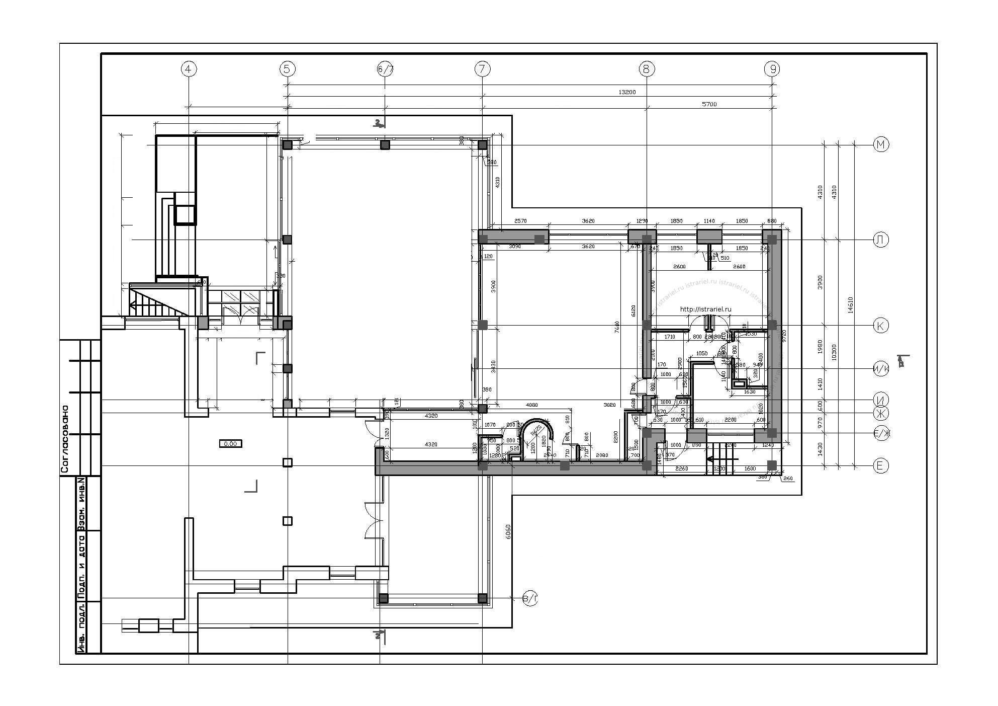 план перепланировки помещения